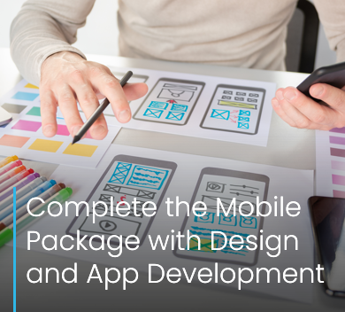 Complete the Mobile Package with Design and App Averma Crawley website