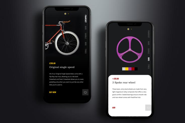 App Design TL Cycles Crawley Horley Redhill Horsham Reigate