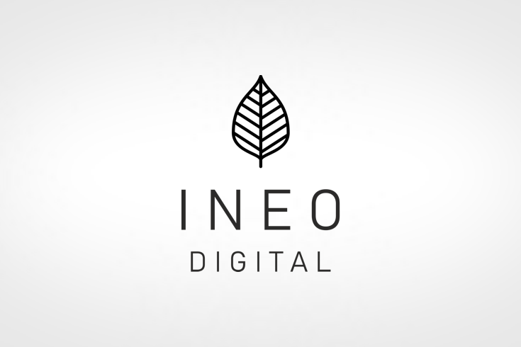 Logo Design INEO Digital Averma Surrey Crawley